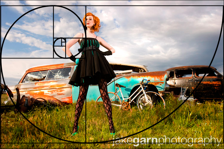The lazy rule of thirds jake garn photography for Golden rule painting